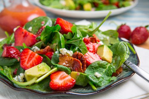 Strawberry and Avocado